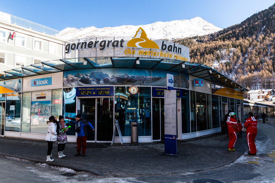 Kolejka na Gornergrat